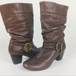 Nurture (Nordstrom) Leather slouchy boot